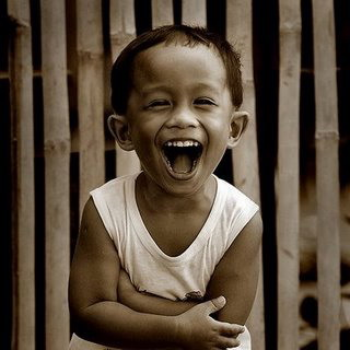 Pinoy Kid Laughing From: http://www.sparkfireinc.com