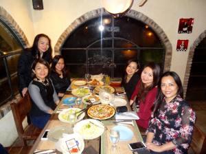 Victory Lipa Pastors' Wives and Ms. Marie Bonifacio